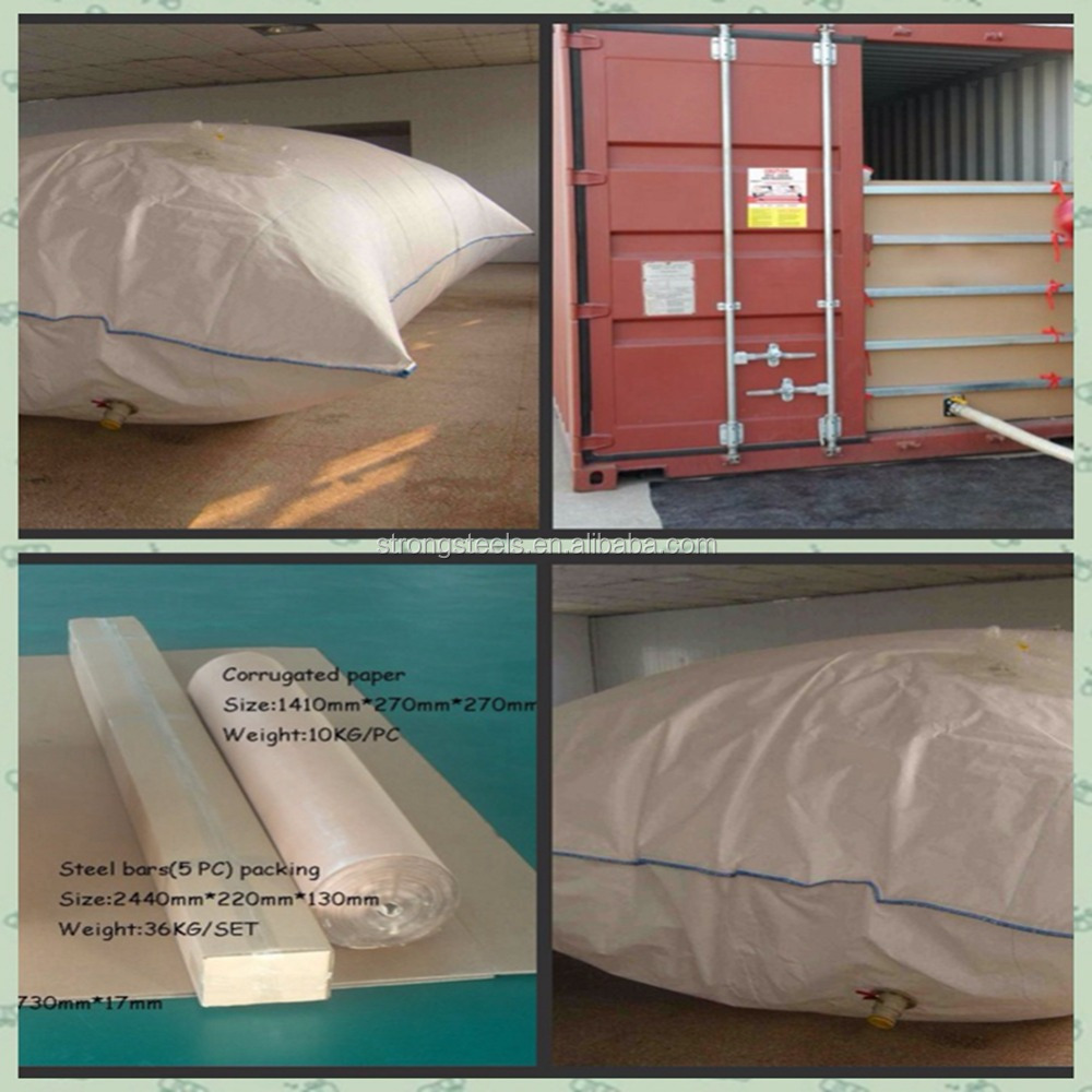 high quality flexitank for bulk bitumen transportation