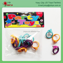PVC 2.5cm dolphin ring , small plastic ring , capsule toy