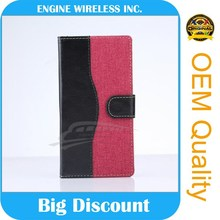 felt case mobile phone flip case for samsung galaxy note 3 neo n750 n7505