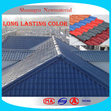 Long Last Colored Corrugated Roofing Sheets/Colored Coated Plastic Roofing