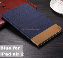 Jean style leather case with card slot Custom printed case for Samsung T110/GALAXY Tab 3 Lite 7""