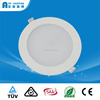 Dimmable 9W led panel light round CE ROHS approved for 90-100mm cut hole installation