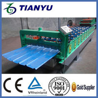 CE Trapezoidal corrugated profile srib roofing sheet sheet metal forming tools