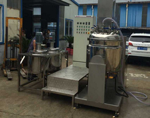 vaccum emulsifying machine for Neurozin sugar syrup blending prcessing