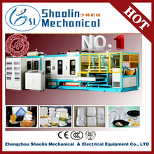 High quality plastic foam tableware production line with lowest price