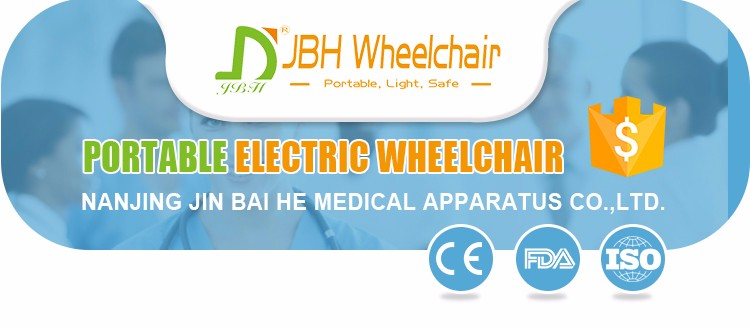 High quality aluminum alloy lithium battery brushless foldable electric wheelchair prices for the disabled