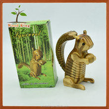 Wholesale Hot Simulation Of The Squirrel Striped Wood Model Children'S Toys 2017 Wooden