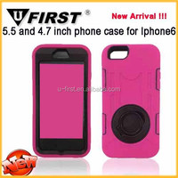 New PC Silicone Combo Shock Proof robot case for iphone 6