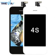 Hot sale original for iphone 4s lcd,4s lcd screen digitizer for iphone, lcd pantalla digitalizador