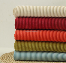 "wholesale corduroy fabric 100% cotton 12x16 64x128 57/58"" 11wales pfd, abt 290gsm"