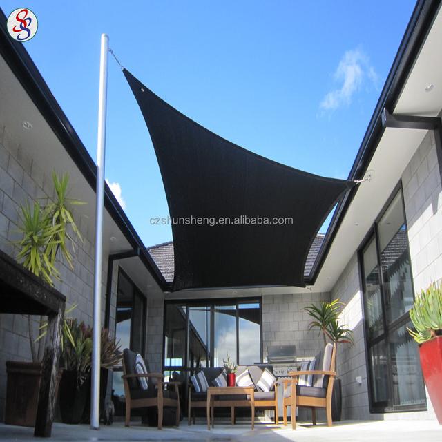 100% hdpe car parking shade cloth sail for outdoor