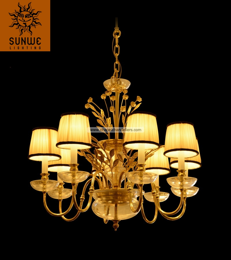 Top sale antique BRASS pendant light/lampe chandeliers/ for home and hotel