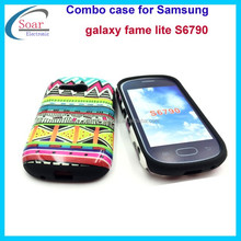 New arrival back cover case for Samsung galaxy fame lite S6790,design combo case for Samsung galaxy fame lite S6790