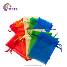 Wholesale Sheer Organza Gift Pouch Organza Jewellery Bag