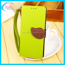 Leaf Leather Phone Case For Xiaomi Mobile Case Phone Covers For Xiaomi 6 Case For Xiaomi 6