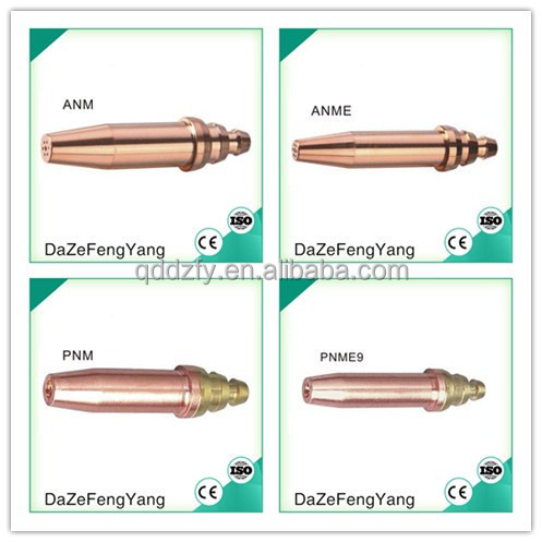 ANME PNME oxygen acetylene cutting nozzle