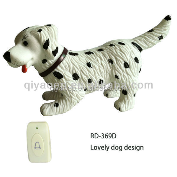 Dog Barking Doorbell Remote Controlled Funny Door Chime