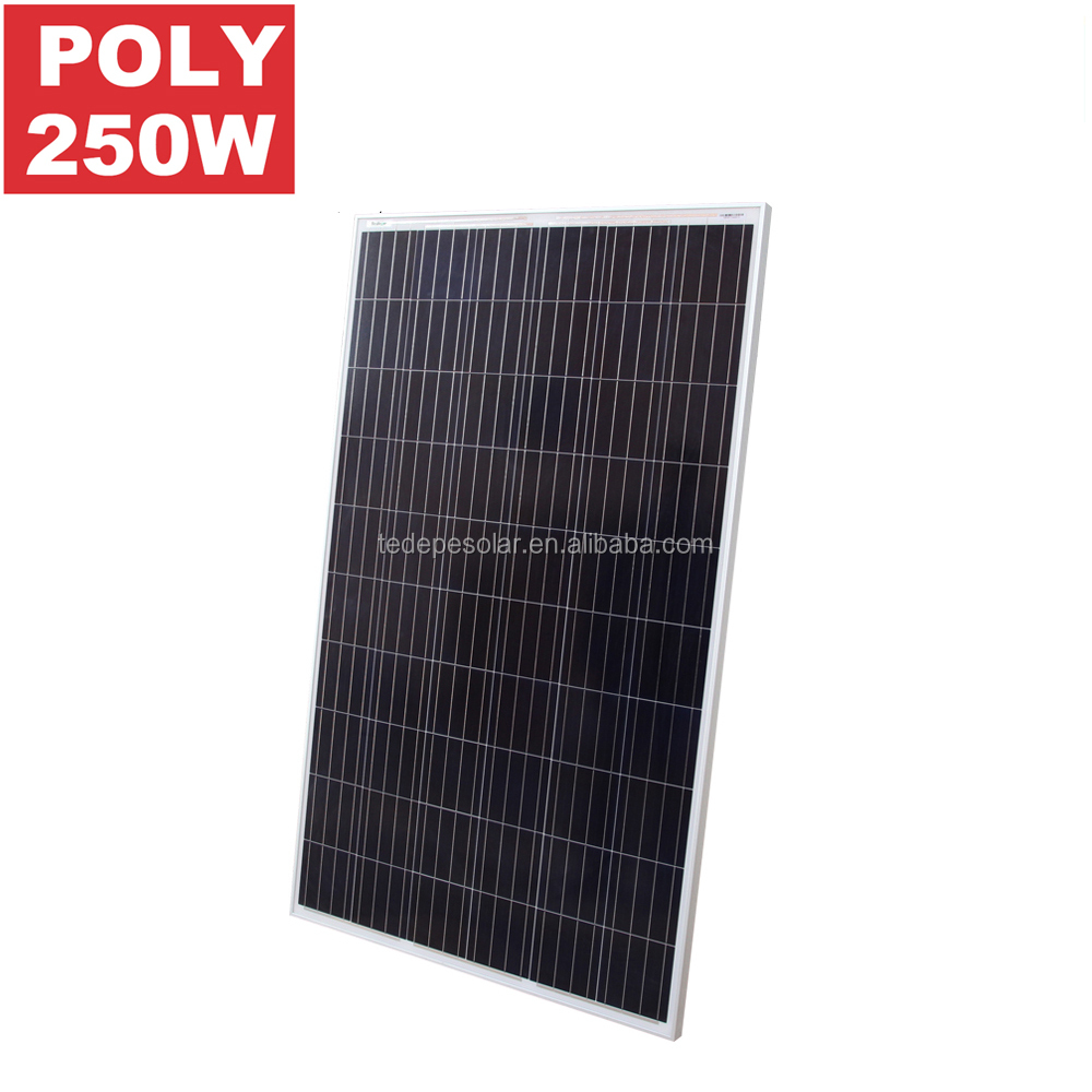 China PV manufacturer 250w PV Solar Panel Price with Full Certificates