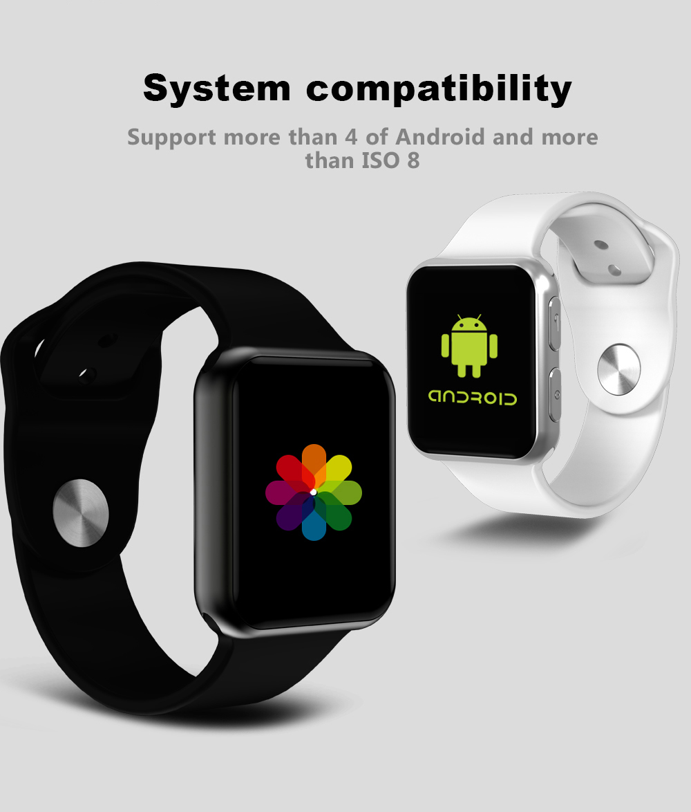 I69 Smart sport bracelet Heart rate monitor Remote control Pedometer Sleep Tracker Social Media Notifications for iphone Android