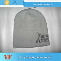 Gold Supplier China 100% acrylic winter knitted hat for winter