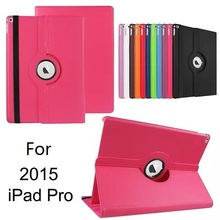 Rotate Flip Folio Stand PU Leather Cover Case For ipad Pro 12.9''Inch, For iPad Pro Rotating Case
