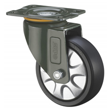 PP PA PU TPR ER Rubber Industrial Medium Light Duty Caster Wheel