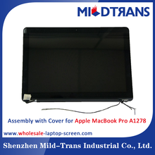 Laptop screen assembly with cover notebook display digitizer for Apple MacBook Pro A1278