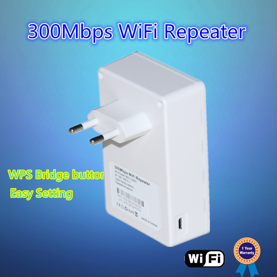 300Mbps 2T2R wifi repeater/booster, extend the exist wifi range by WPS bridge button, with AP/Repeater/Router operation mode