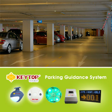 KEYTOP-Intelligent Parking Guidance System-Parking Guidance Information System-Parking status indicator