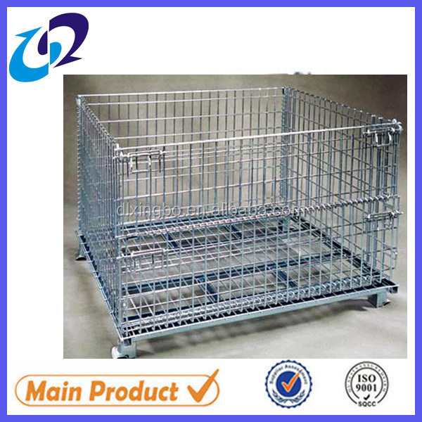 Wire Mesh Container,Suitable for warehouse, pallet rack,