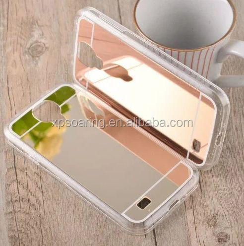 For Samsung galaxy S4 Mirror Design tpu case back cover