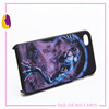 Hot sale 3D sublimation plastic cell phone case/ 3D cell phone case /3D blank mobile phone case cover