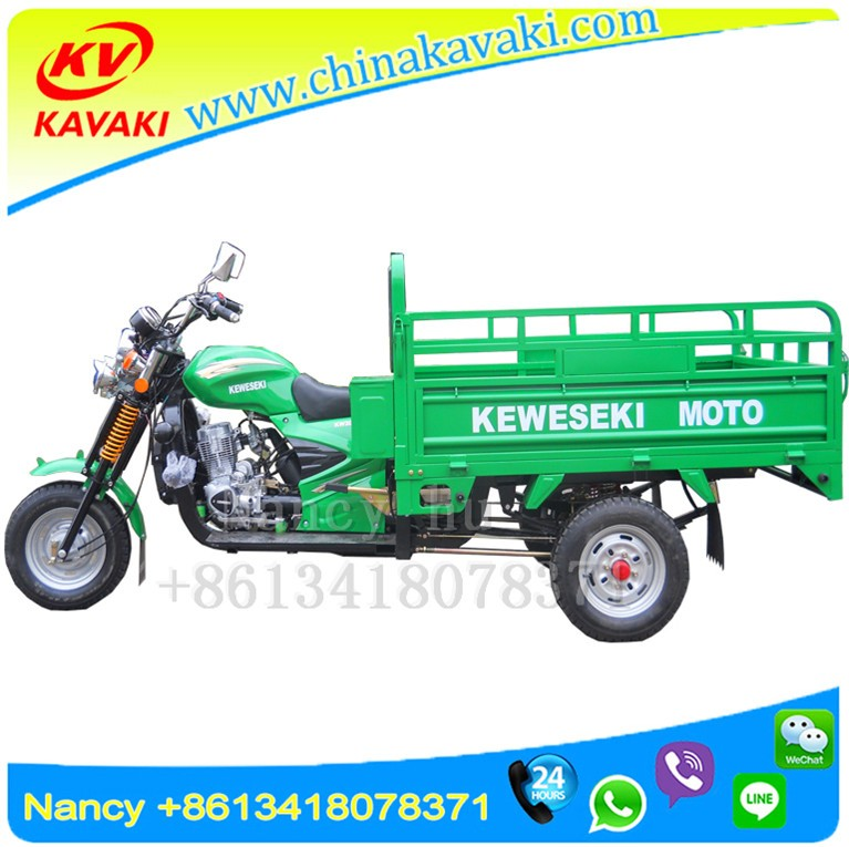 Hot selling turkmen keweseki 200cc three wheel cargo motorcycle