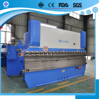 CNC press brake, PSH series hydraulic plate bending machine, door frame bending machine digital display press brake