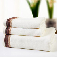 wholesale cotton terry bath towel set