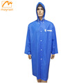 Disposable Blue Plastic Folding Raincoats