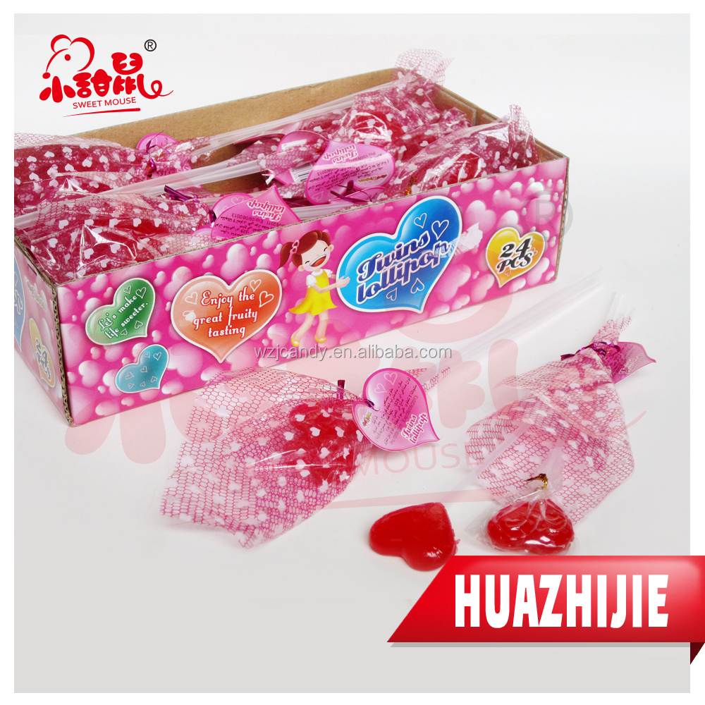 183201610 Good taste and colorful heart shape candy