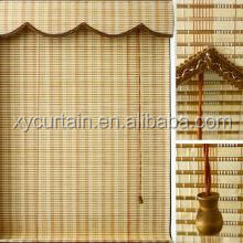 Bamboo roman black out window blinds