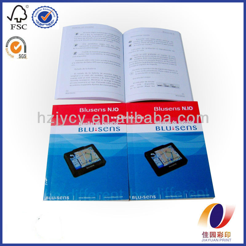 Professional instruction booklet printer