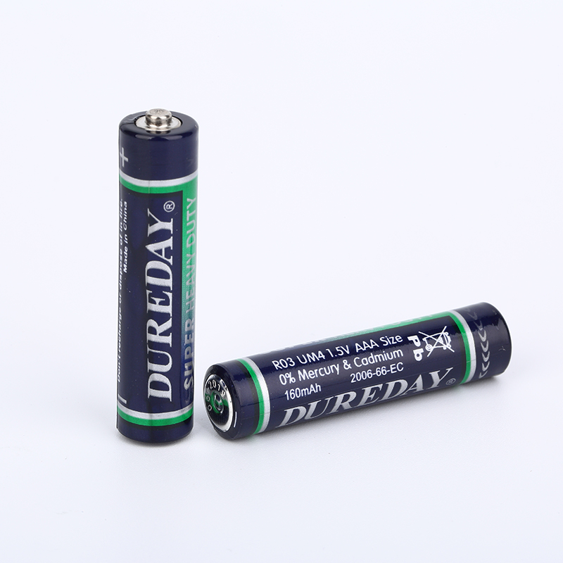 1.5v R03 Um-4 Aaa Carbon Dry Cell Battery