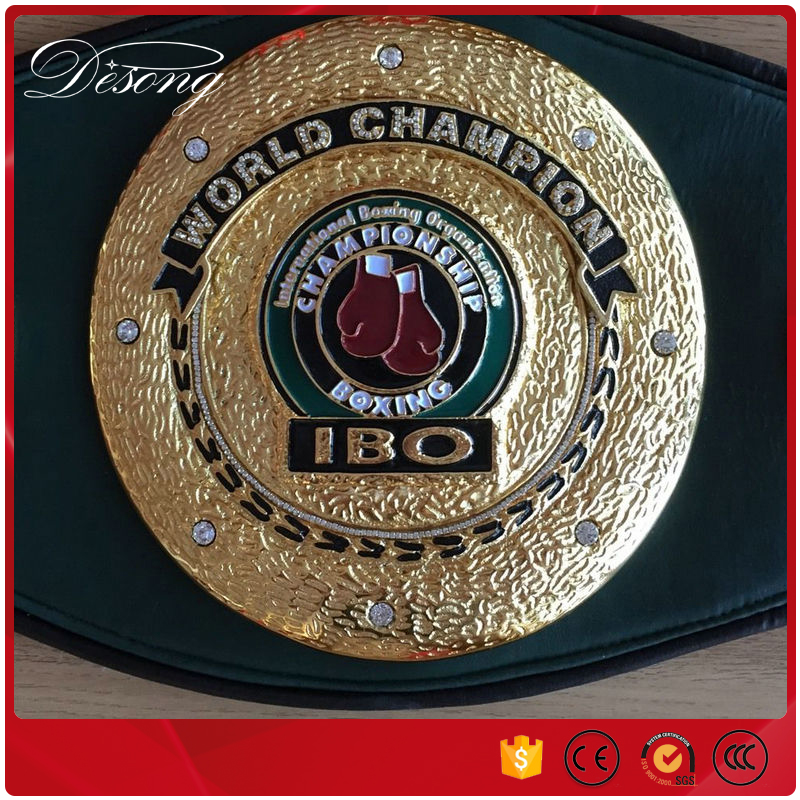 Factory Custom Made Champion Boxing Belt for Boxing Event
