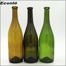 Stock 750 ml inflatable champagne bottle with corks