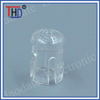 plastic led light guide lens cap