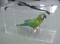 clear favorable price for acrylic bird cage favor box