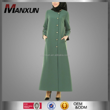 Newest Simple Dubai Designer Dress Simple Modest Muslim Clothing Wholesale Women Turkish Abaya