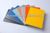 aluminium composite panels with 3mm 4mm 5mm thickness