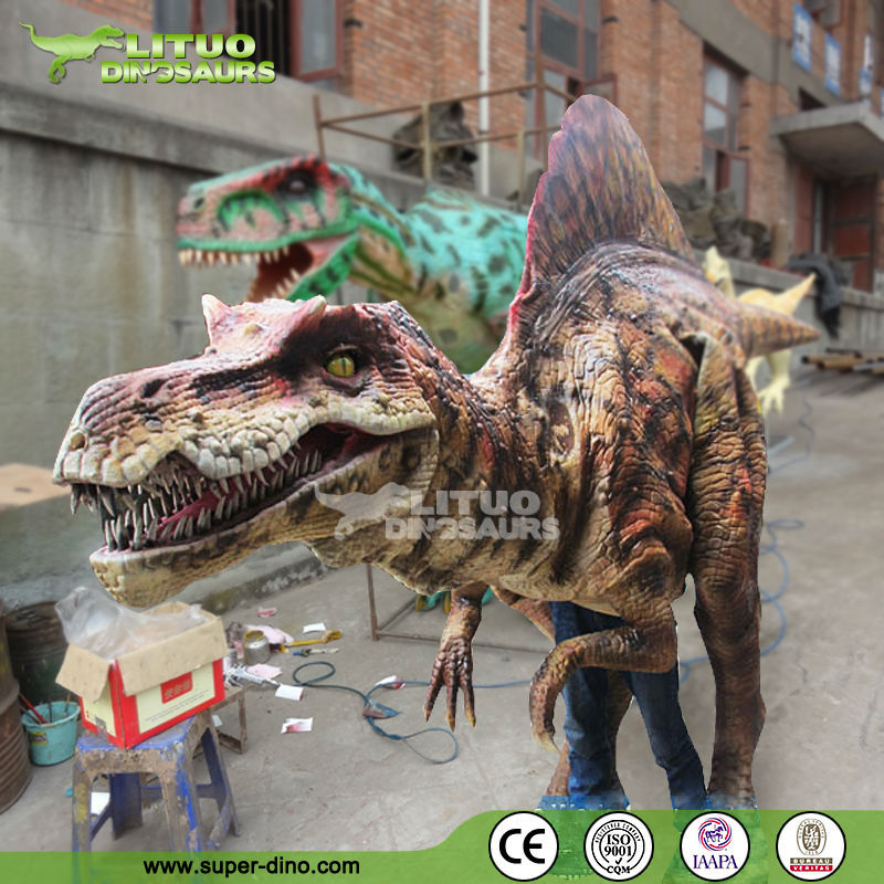 Artificial Walking Dinosaur Realistic Dinosaur Costume Adult