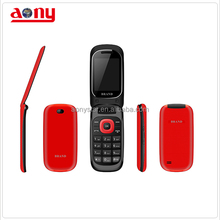Flip type 2.4 inch low price mobile phone with multi colors for africa and South America market