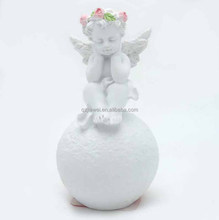 Wholesale true religious wedding table decorations white angel statuette