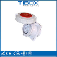 Panel Mounting Straight Socket/ industrial socket and plug